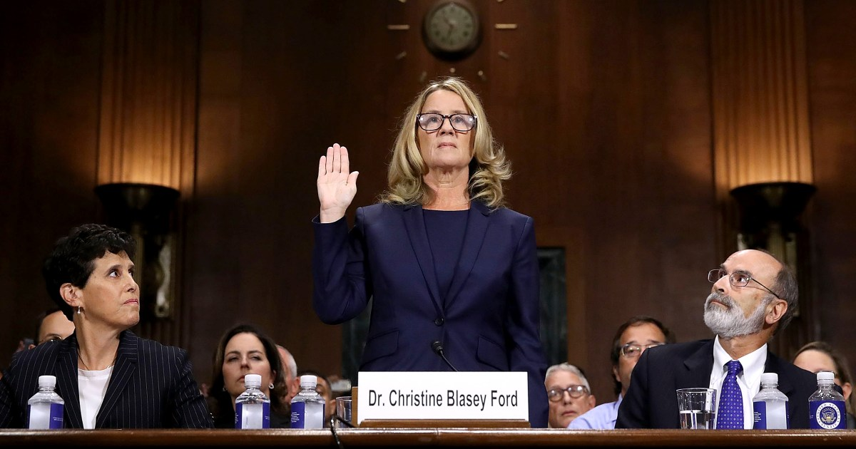 181002 christine blasey ford swearing in ew 1048a c554861414b48c9a08e7080b5f4607cc nbcnews fp 1200 630