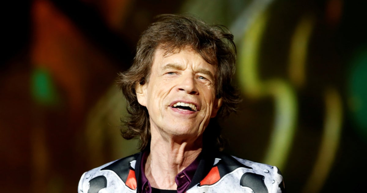 Mick Jagger supports climate change protests on Venice red carpet - NBC News