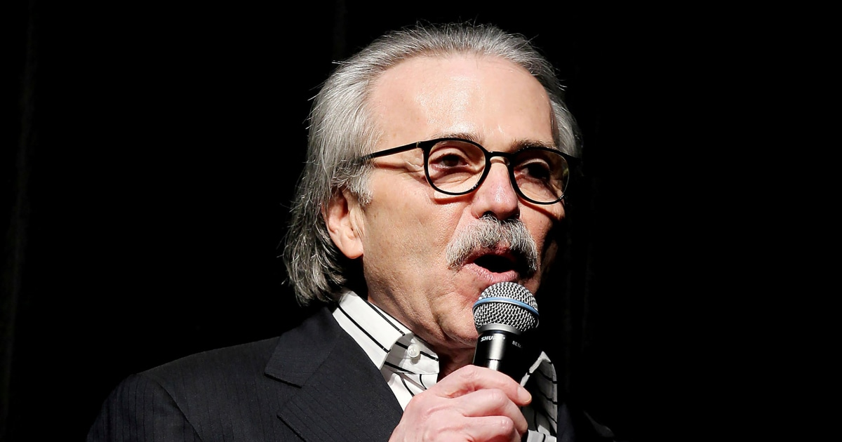 David Pecker out as CEO of National Enquirer parent company – NBC News