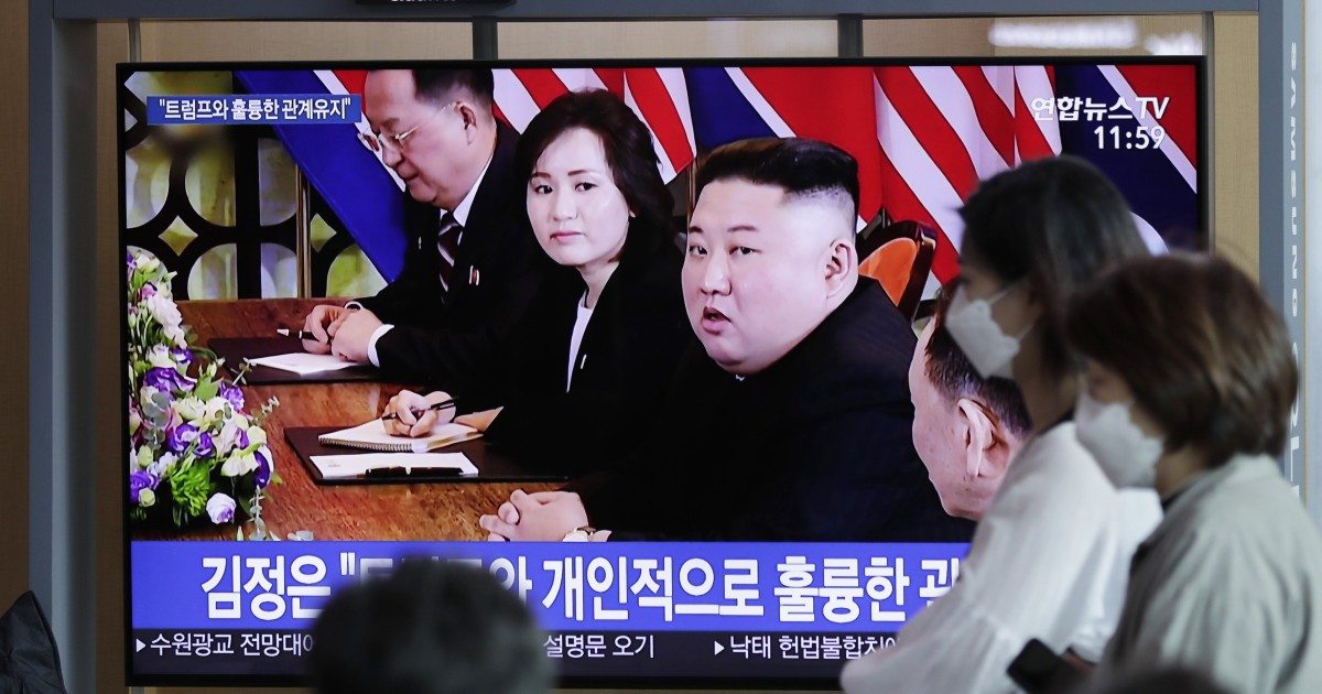 North Korea's Kim open to another Trump summit – with conditions
