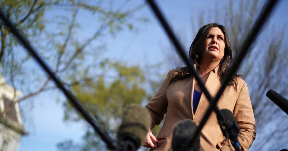 Sarah Sanders, ex-Trump press secretary, to run for Arkansas governor