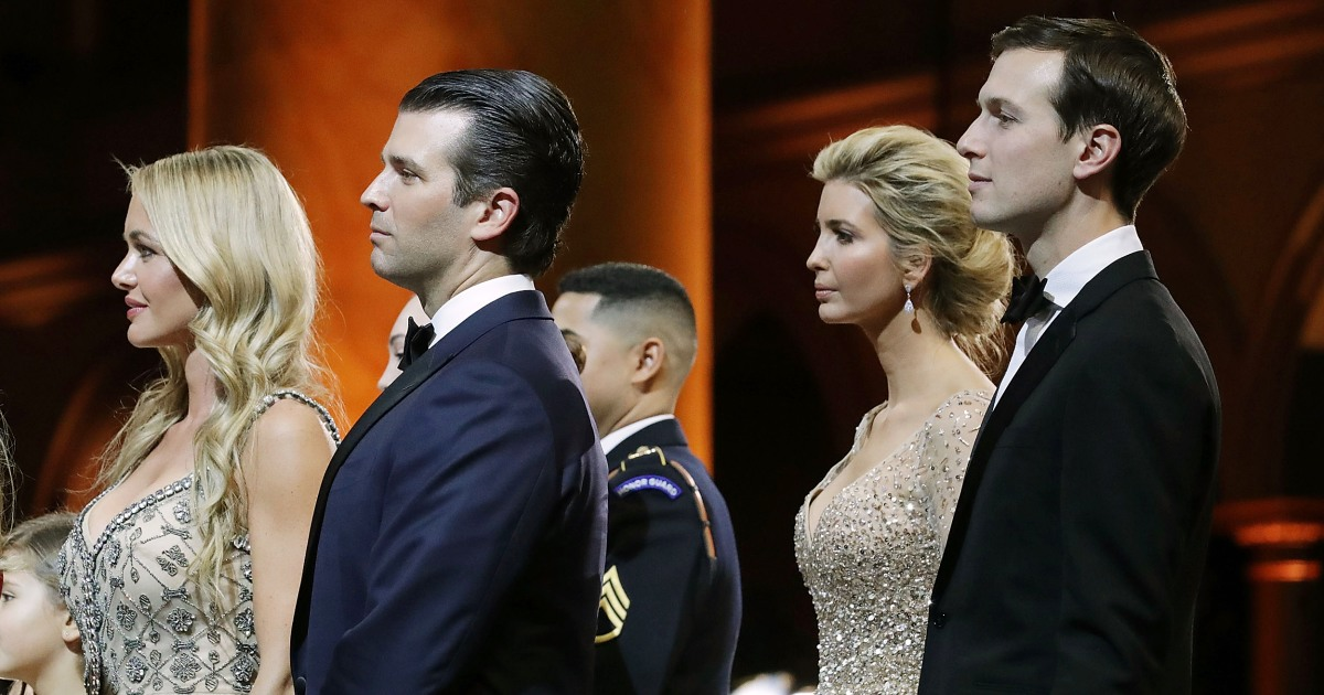 What the Mueller report says about Jared Kushner, Ivanka Trump and Donald Trump Jr.