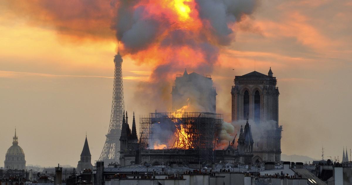 Notre Dame φωτιά αναδεικνύει την παγκόσμια κίνδυνο να οδηγήσει σκόνη