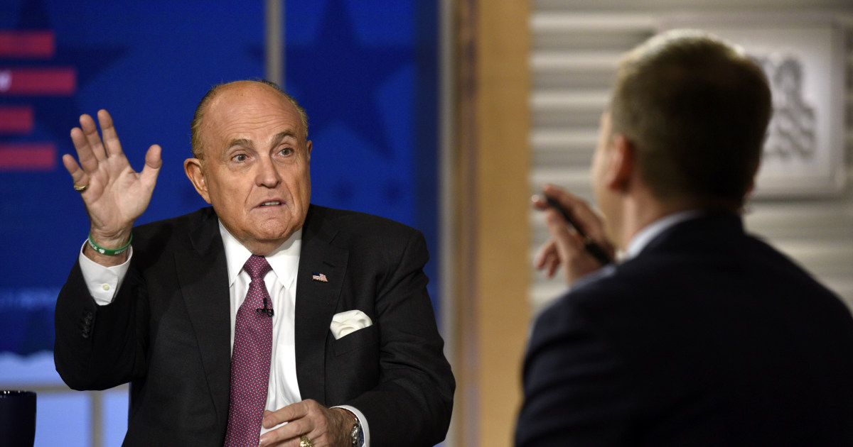 Giuliani says Americans had 'right to know' about Clinton emails hacked by Russians