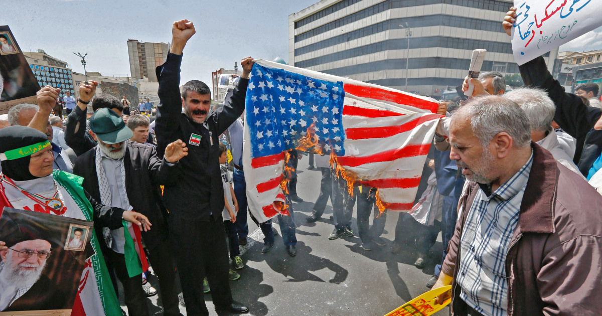 Iran's U N  envoy denies threat against U S  forces, calling