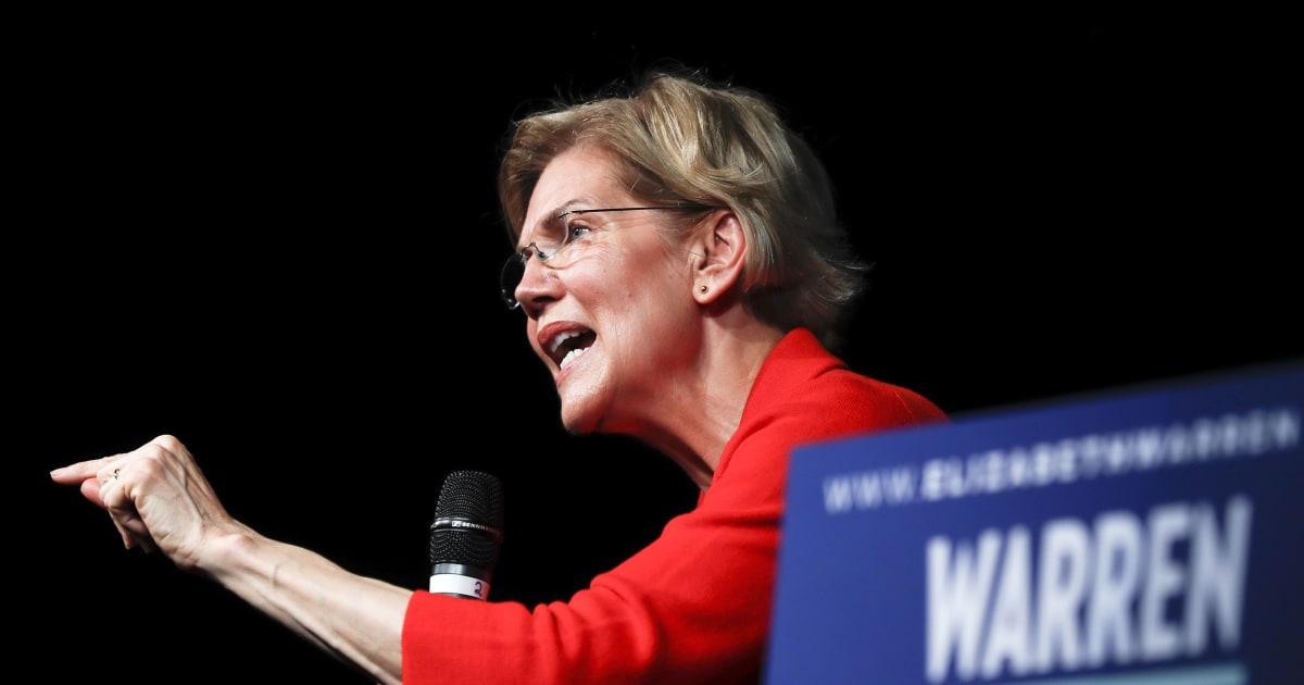 Elizabeth Warren turns down Fox News town hall, calls network a 'hate-for-profit racket'