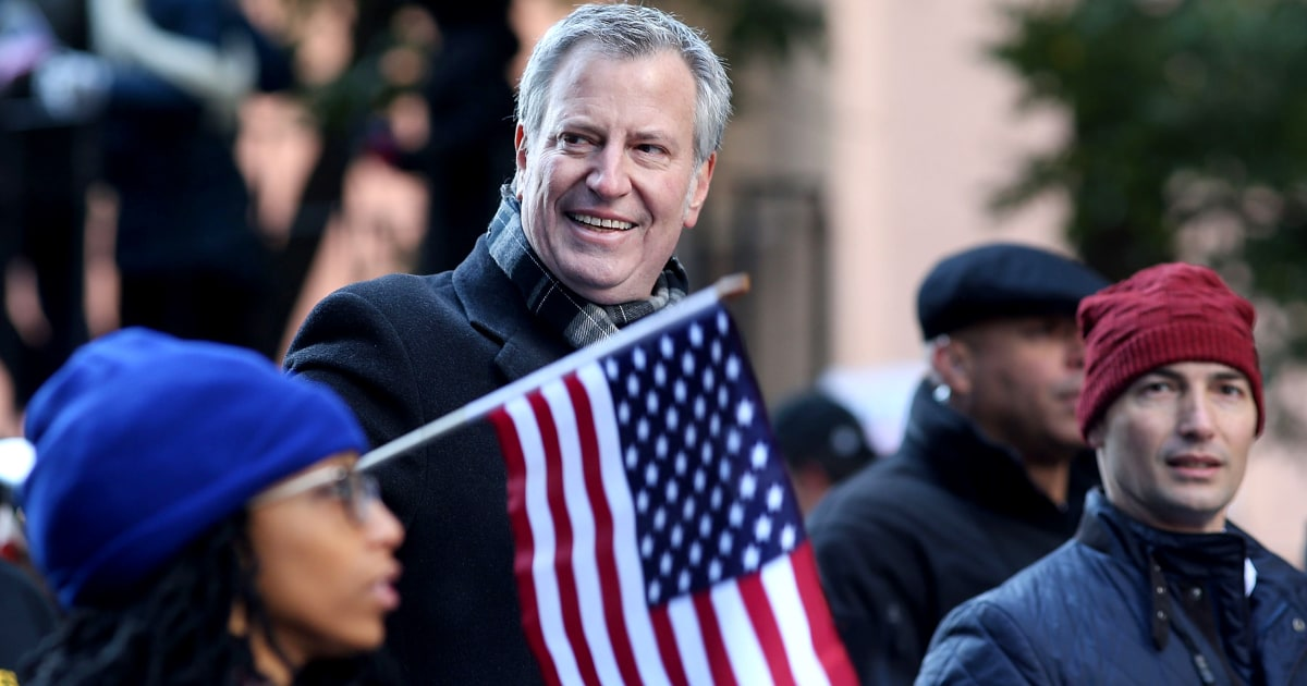 New York City Mayor Bill de Blasio to announce presidential bid