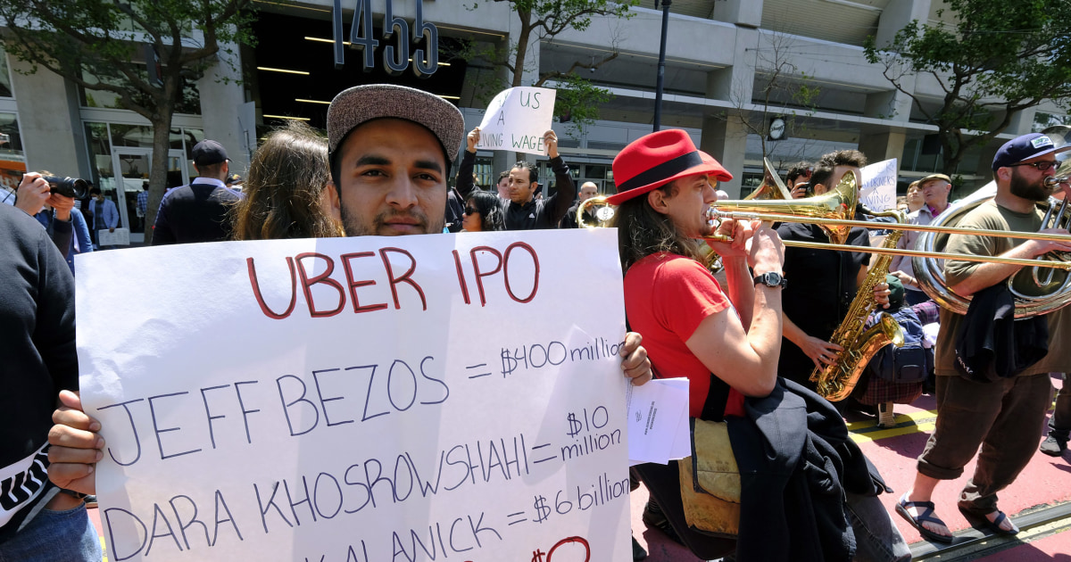 Uber drivers to get ipo shares