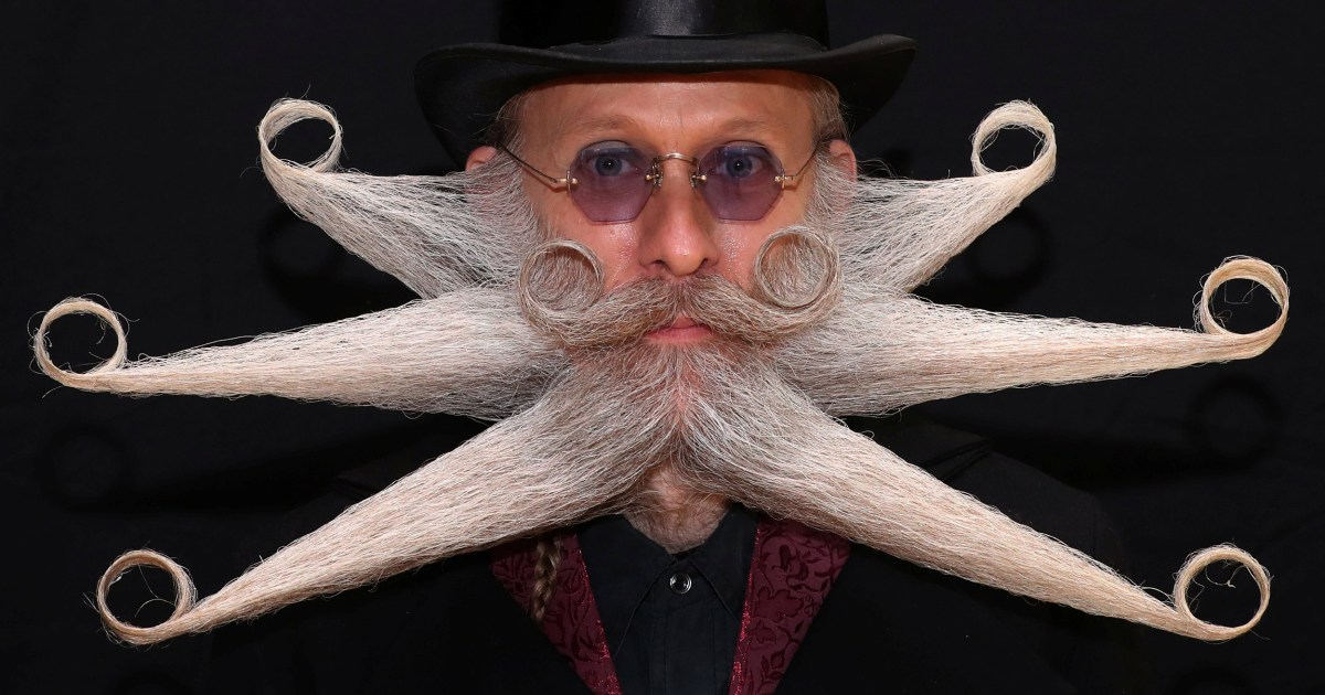 World Beard and Moustache Championship draws enthusiasts from around the world
