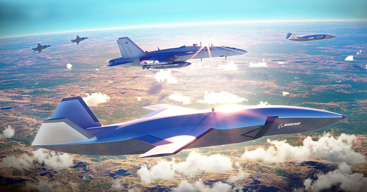 Robotic fighter jets could soon join military pilots on combat