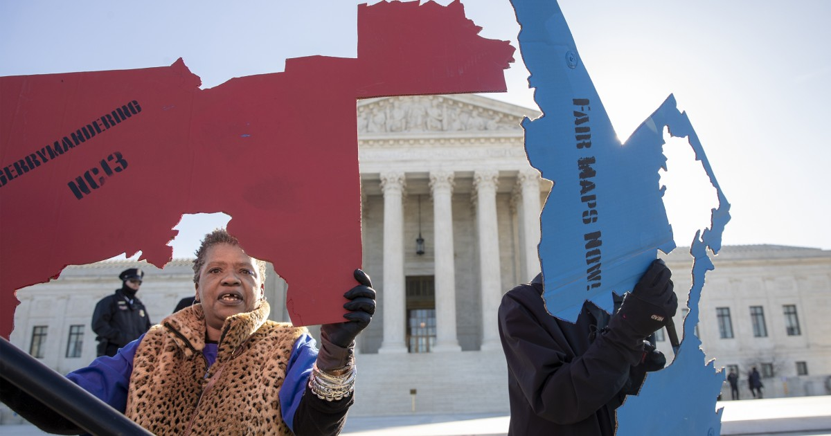Supreme Court temporarily blocks rulings requiring new voting maps for Ohio and Michigan thumbnail
