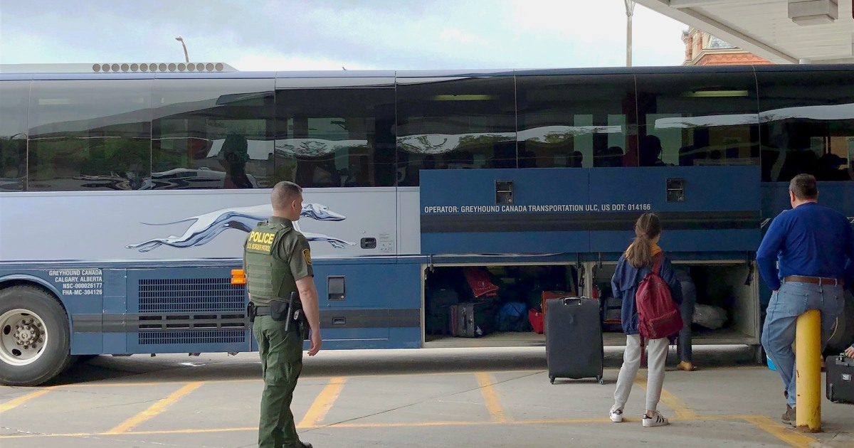 Border Patrol searches have increased on Greyhound, other