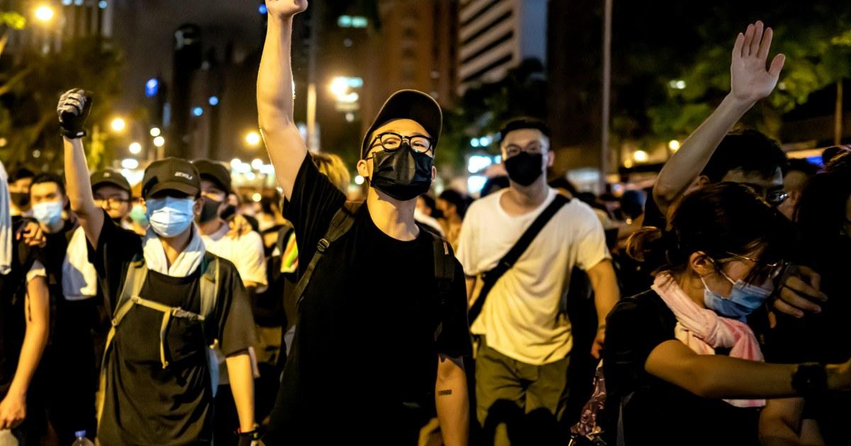 Hong Kong S Protests Against China Show U Eat Of