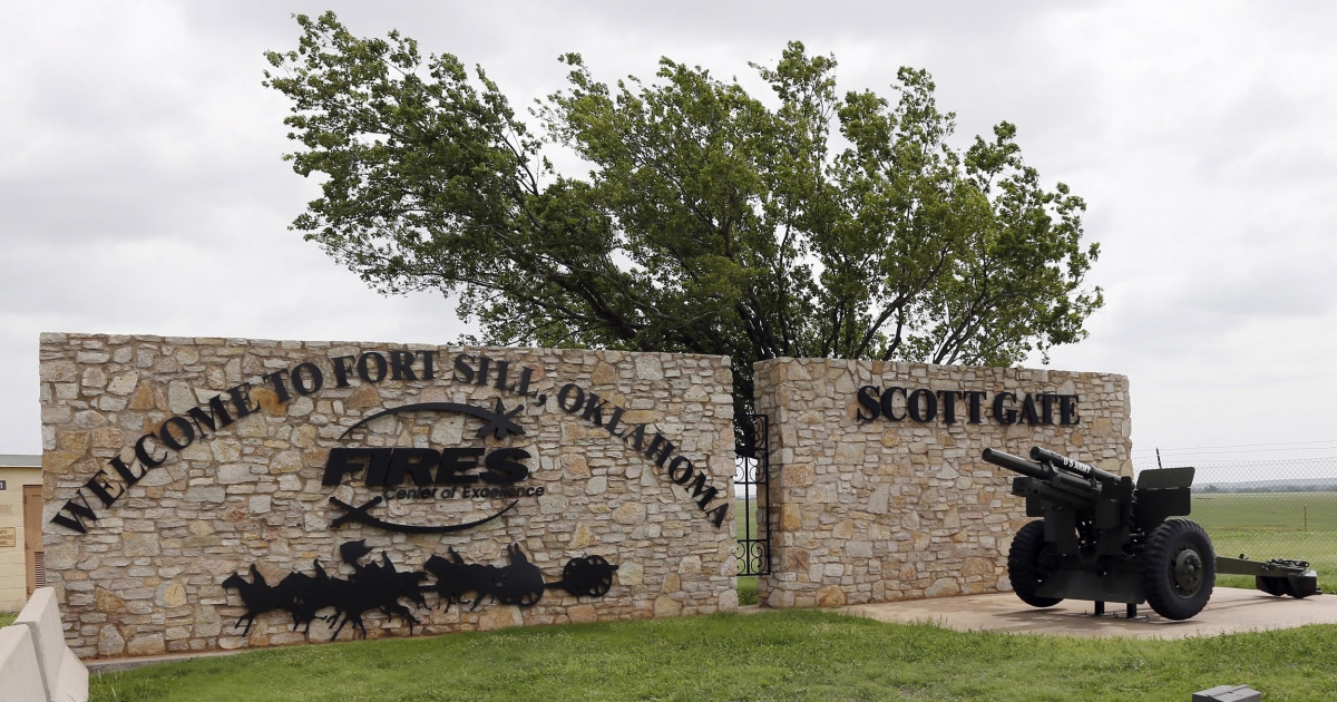 Federal Government To Use Army Base In Oklahoma To Shelter