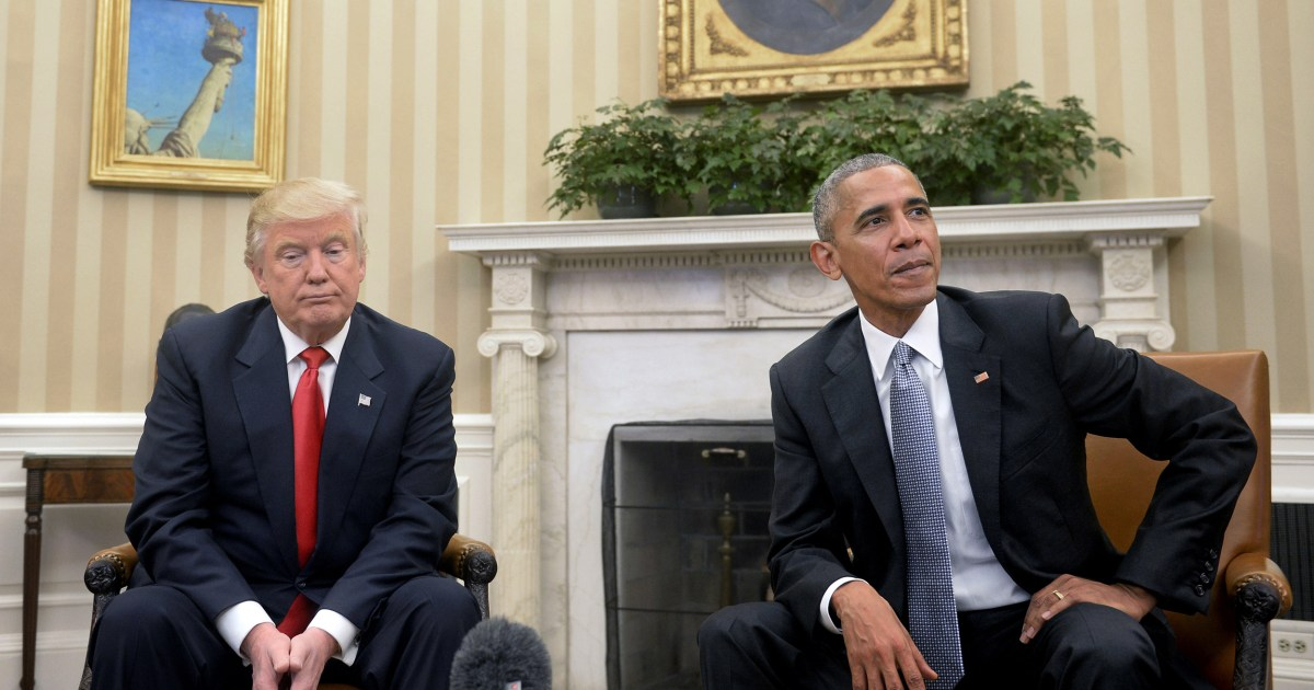 Obama calls out Trump for trying to 'kneecap the Postal Service'
