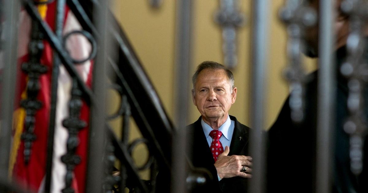 Konservative lightning rod Roy Moore zu beraten Louisiana Kirche trotzt Bestellungen