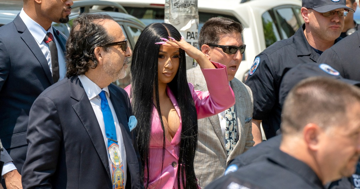 Cardi B Indicted On Felony Charges In Alleged Strip-club Brawl