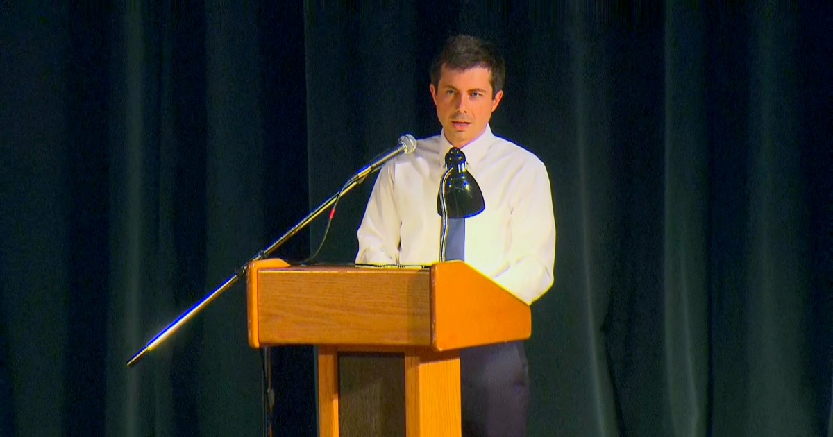 Buttigieg faces testy town hall after officer-involved shooting
