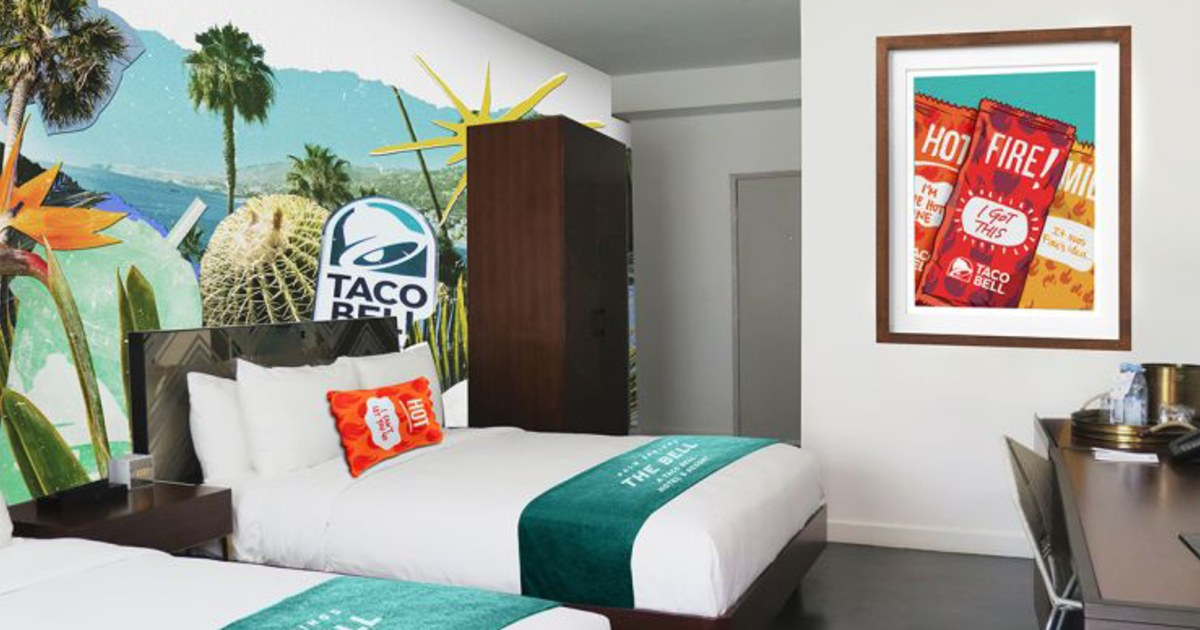 Reservations For Taco Bell S Hotel Sell Out In 2 Minutes