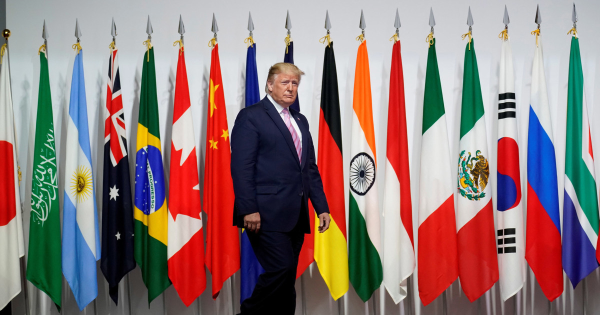 Abroad, Trump leaves the US isolated, ridiculed, and pitied