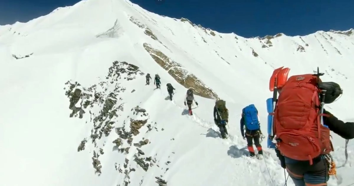 Recovered GoPro footage gives glimpse into 8 dead Himalayan climbers