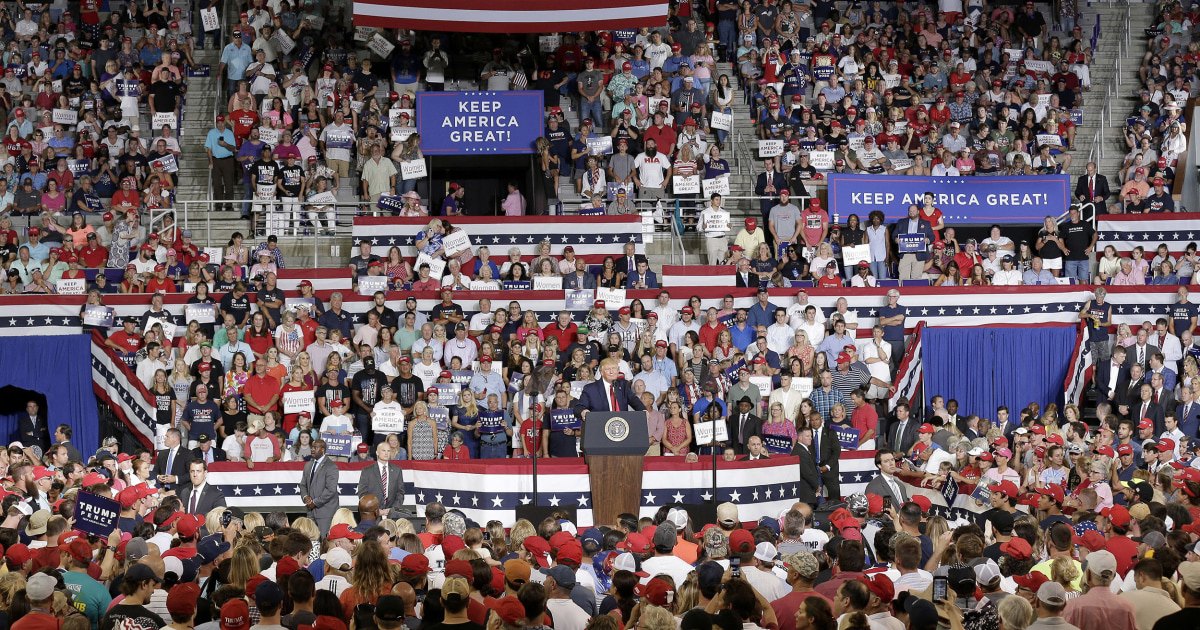 Trump rally, FaceApp privacy concerns and a moment of ...