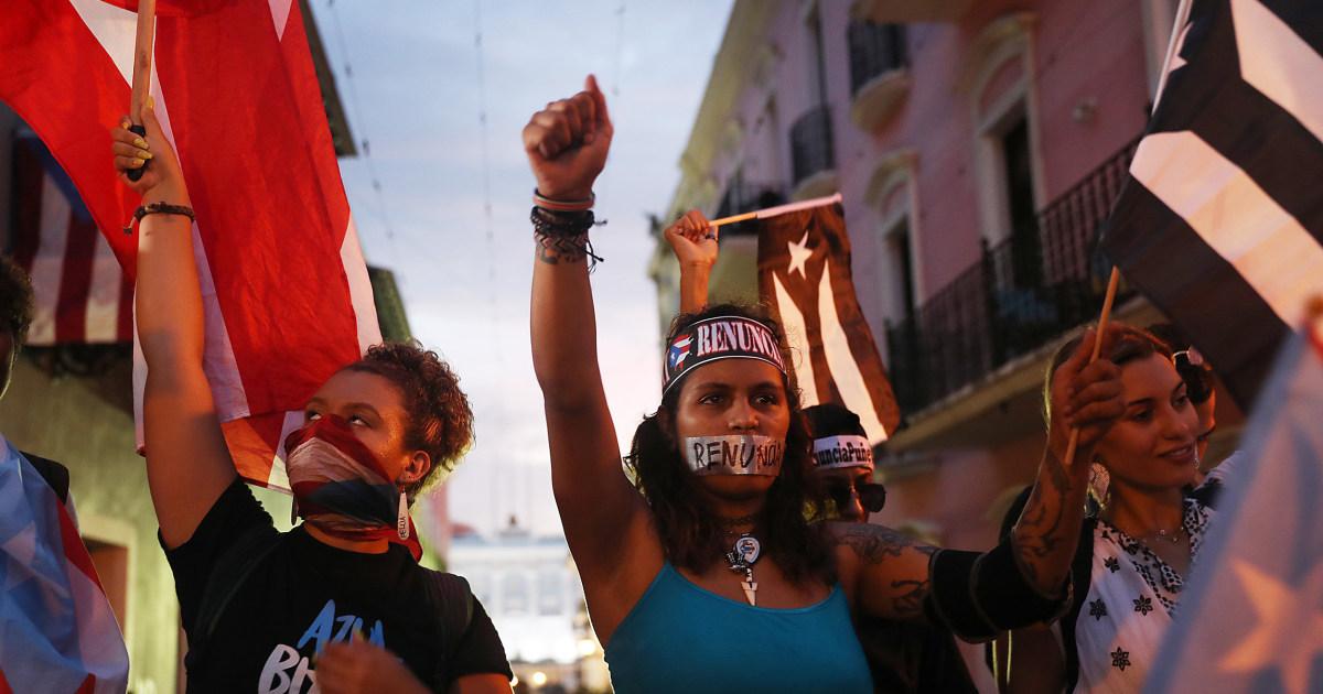 190719 puerto rico protests ac 839p 5252a83594afed05ebae0e2967d90ec7 nbcnews fp 1200 630
