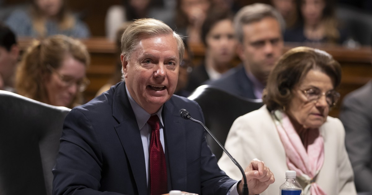 Lindsey Graham's hypocrisy takes a ridiculously brazen turn