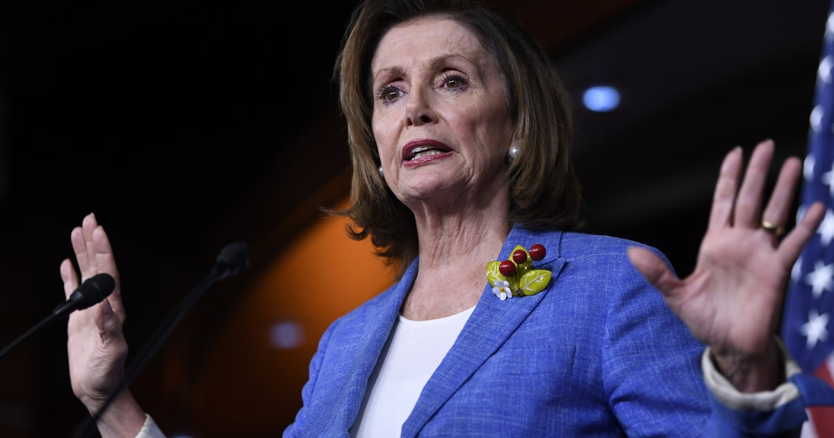 After majority of House Democrats call for impeachment, Pelosi vows Trump 'will be held accountable' thumbnail