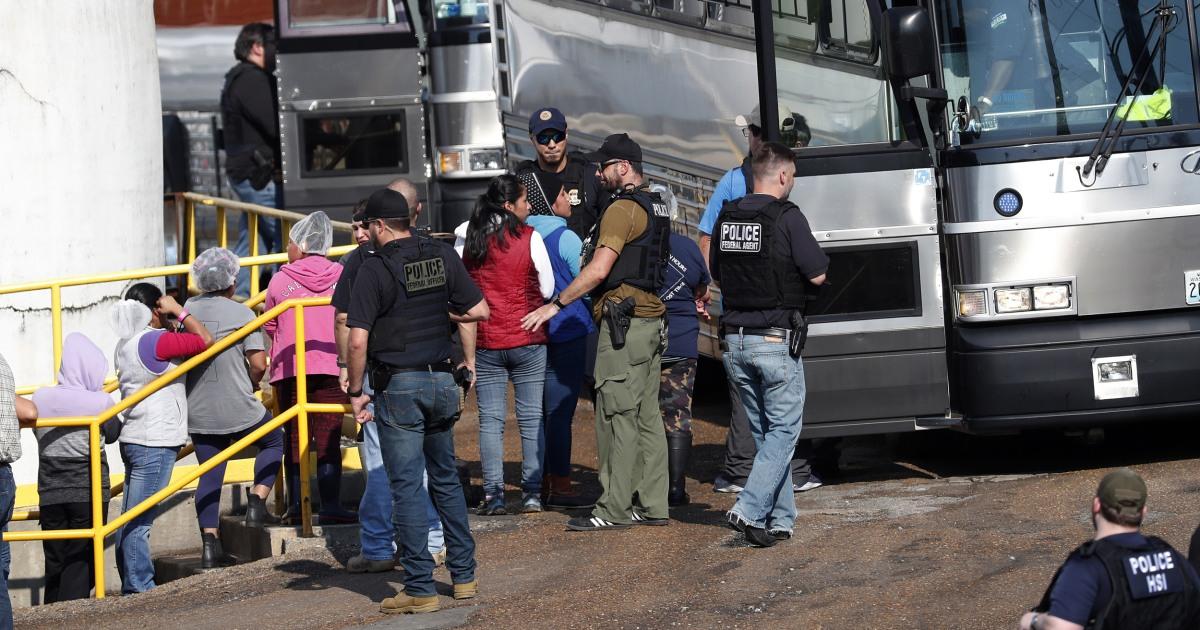 ICE raids sweep up 680 undocumented immigrants across