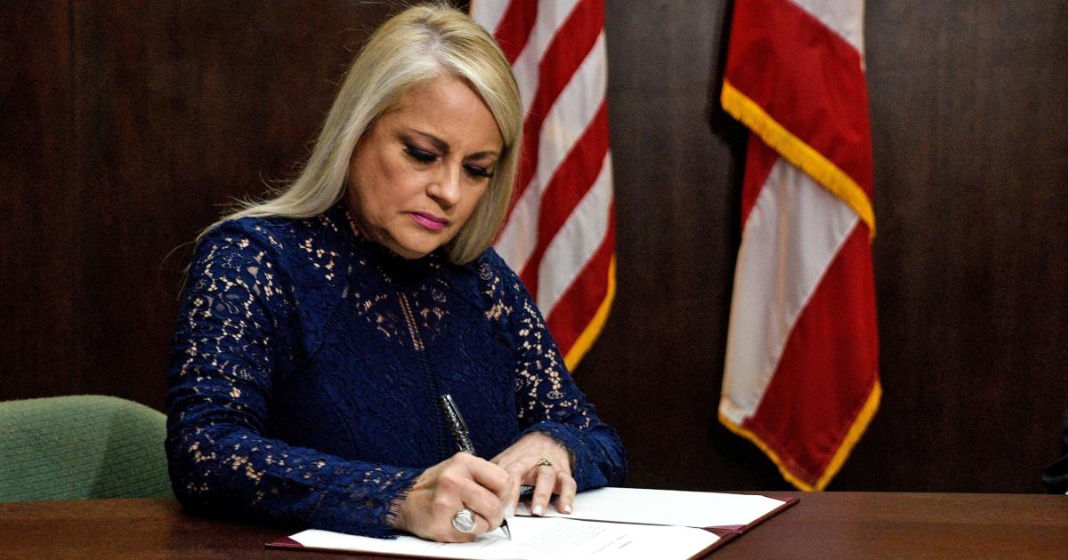 Puerto Rico's new governor suspends contract to rebuild power grid - NBC News