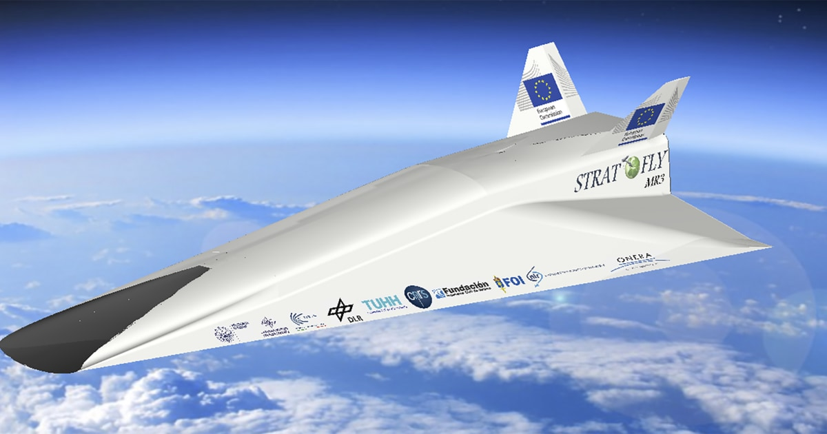 Hypersonic airliner: LA to Tokyo in under two hours...