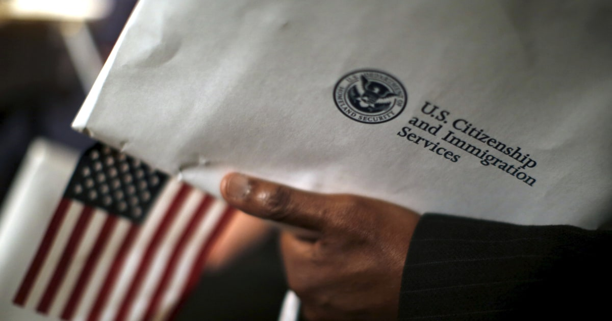 U S  Citizenship and Immigration Services drops 'nation of