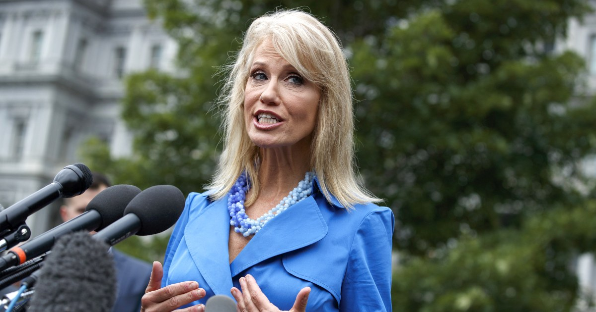 The problem with WH`s Conway equating voting rights...