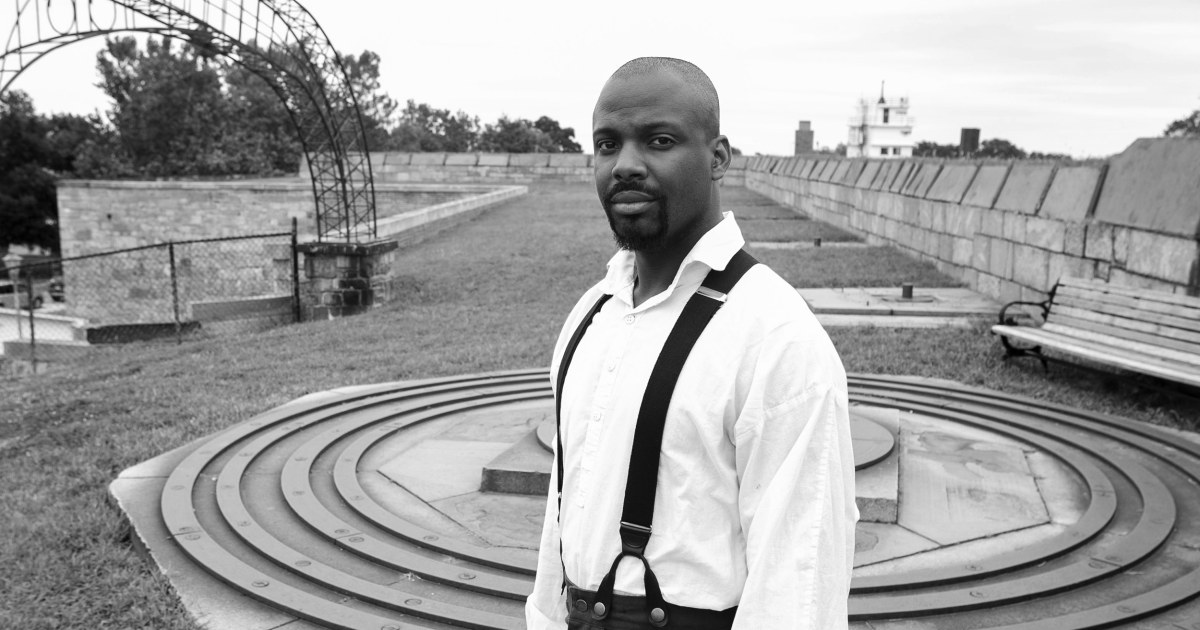 Embodying a slave: A black man brings his ancestor's story to life