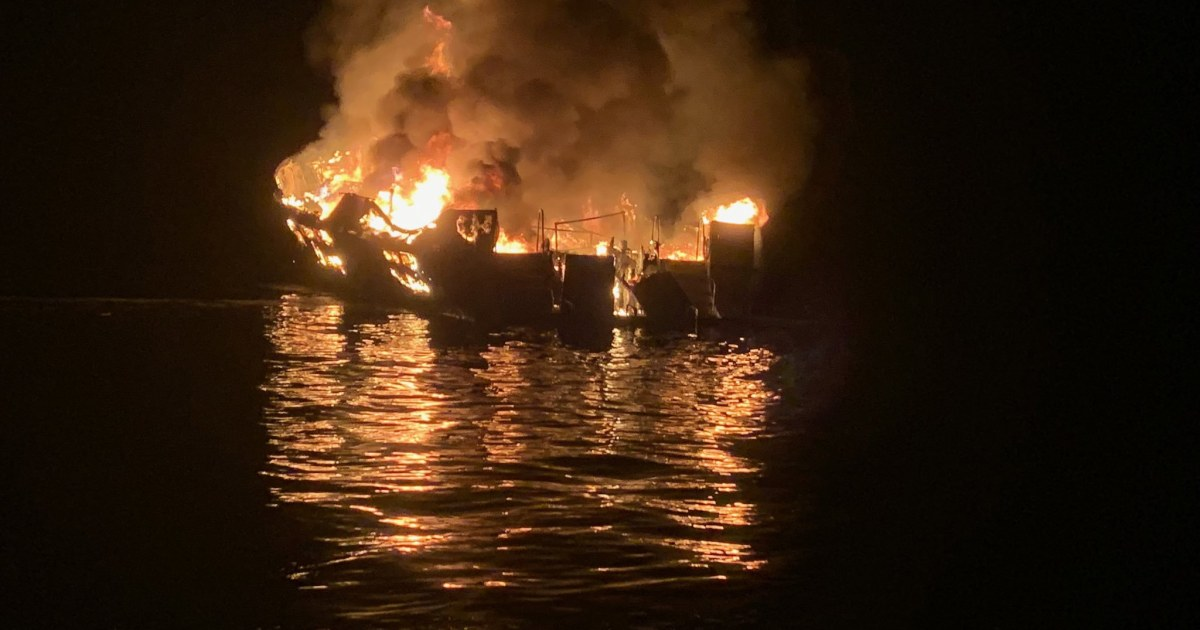 Owners of California dive boat faulted for fire that killed 34 – NBC News