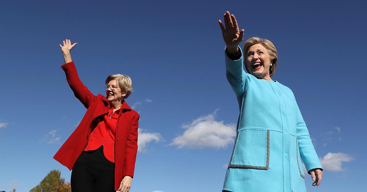 Warren und Clinton sprechen hinter den kulissen 2020-Rennen intensiviert