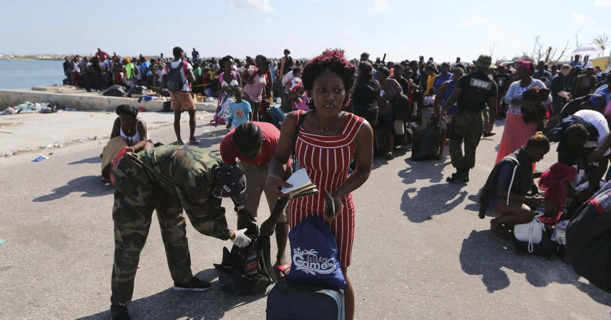 Über 1.000 Bahamas Bewohner evakuiert, nachdem Dorian