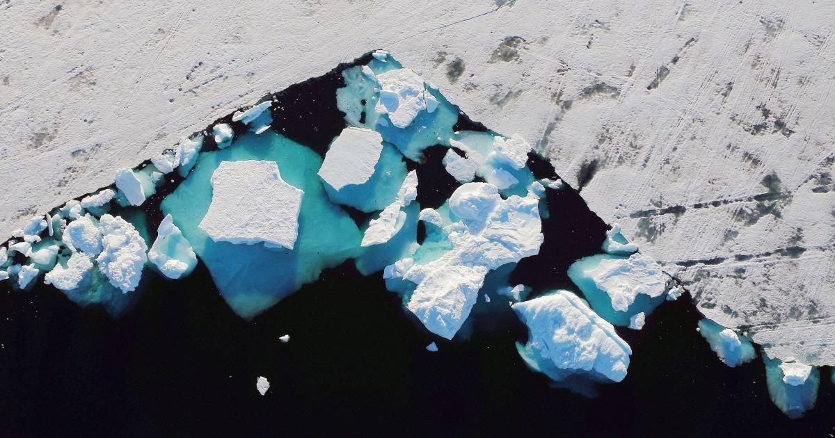 島の危機にさらされ:気候変動の脅グリーンランド—その生き方