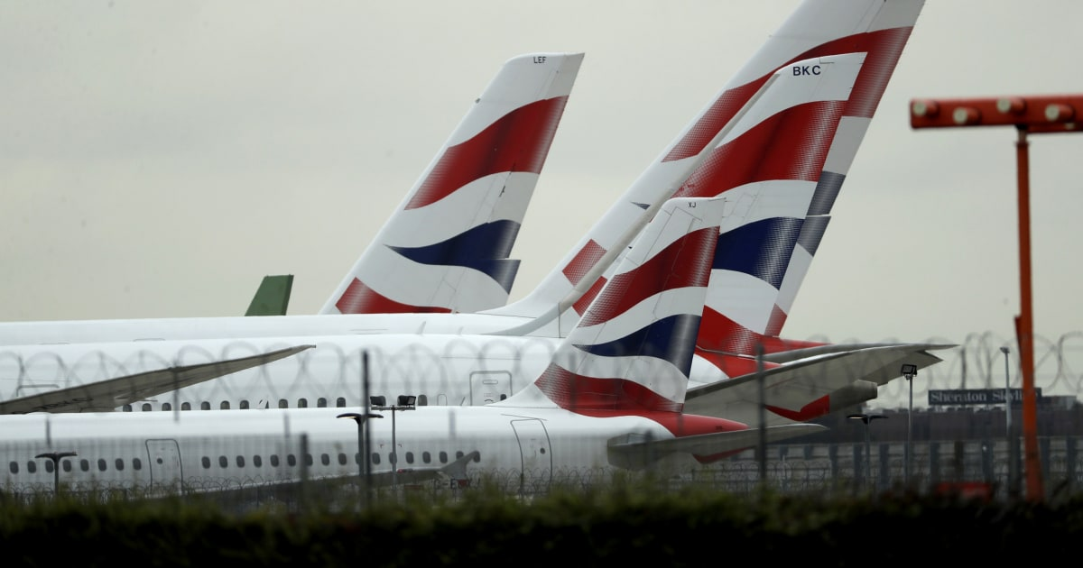 British Airways Gründen fast alle Flüge, die als Piloten-Streik