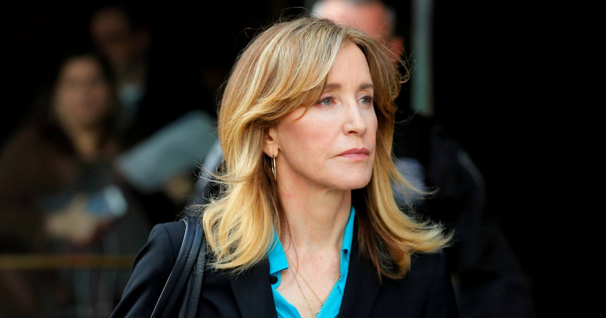 Probation or jail? Felicity Huffman to be sentenced Friday in college admissions scheme