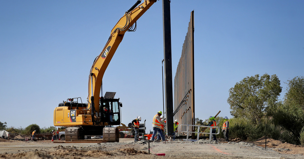 Trump admin preparing to take over private land for border wall