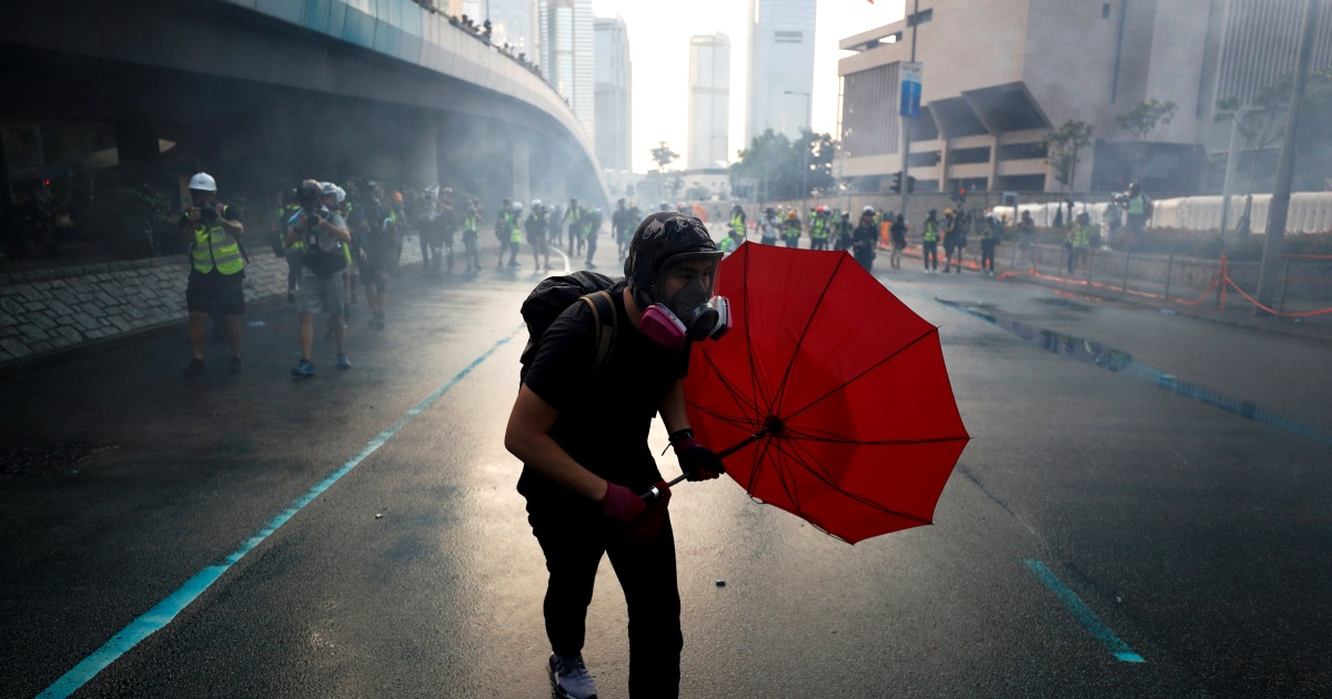 Hong Kong reopens after weekend of clashes