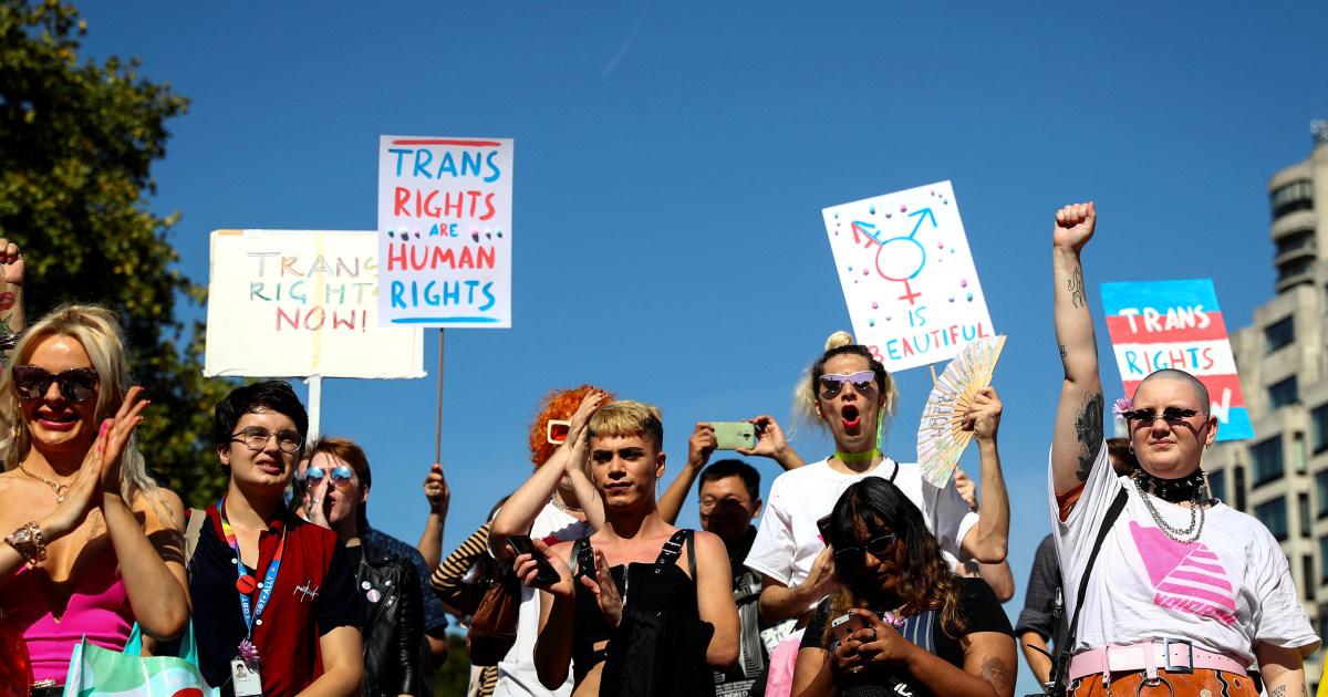 London Gastgeber Stadt die erste Trans Liberation März
