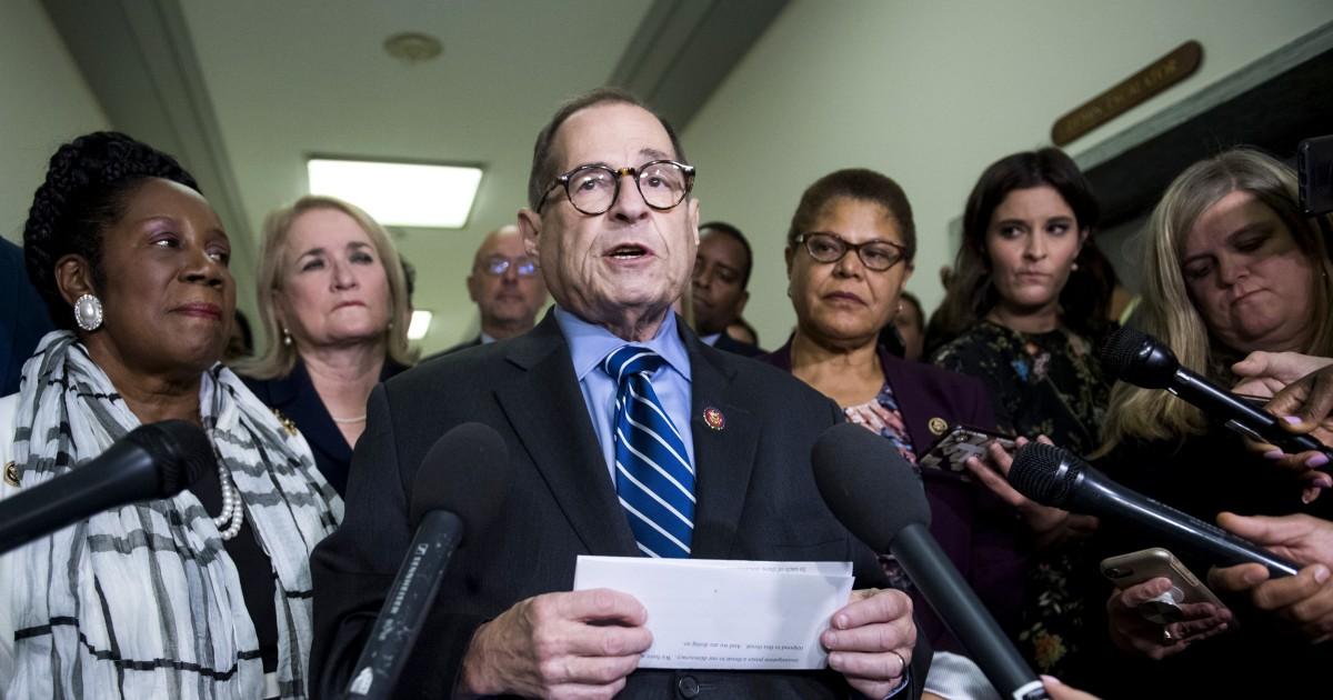 Nadler: Justiz zu beschäftigt Amtsenthebung Trumpf, um den Fokus auf Kavanaugh Ansprüche