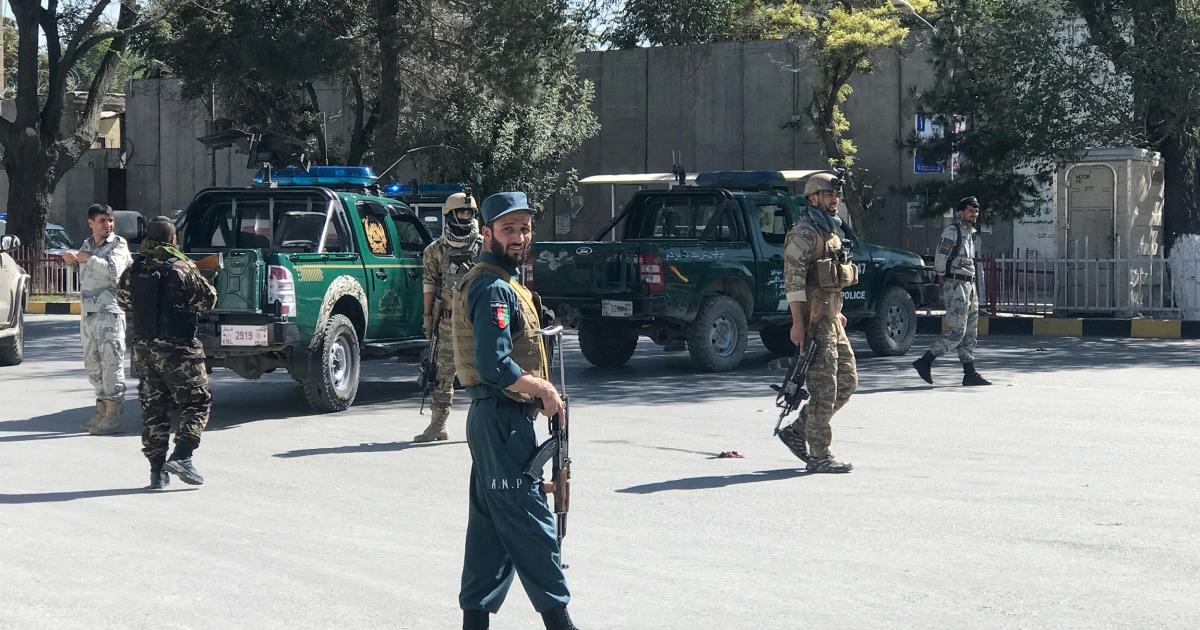 Blast kills 26 at Afghan election rally, aide says president unhurt