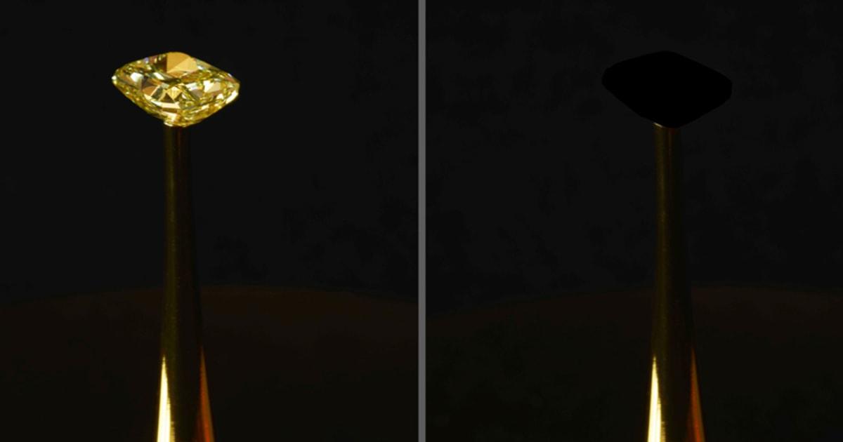 Neue 'blackest black' - material nimmt zu 99,995 Prozent des Lichts