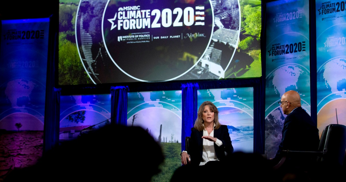 Marianne Williamson responds to criticism: 'There's nothing anti-science about me' - NBC News