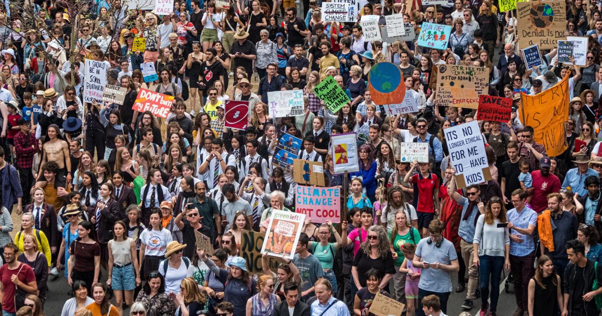 Globale Klima-Streik-Proteste erwartet, ziehen Millionen