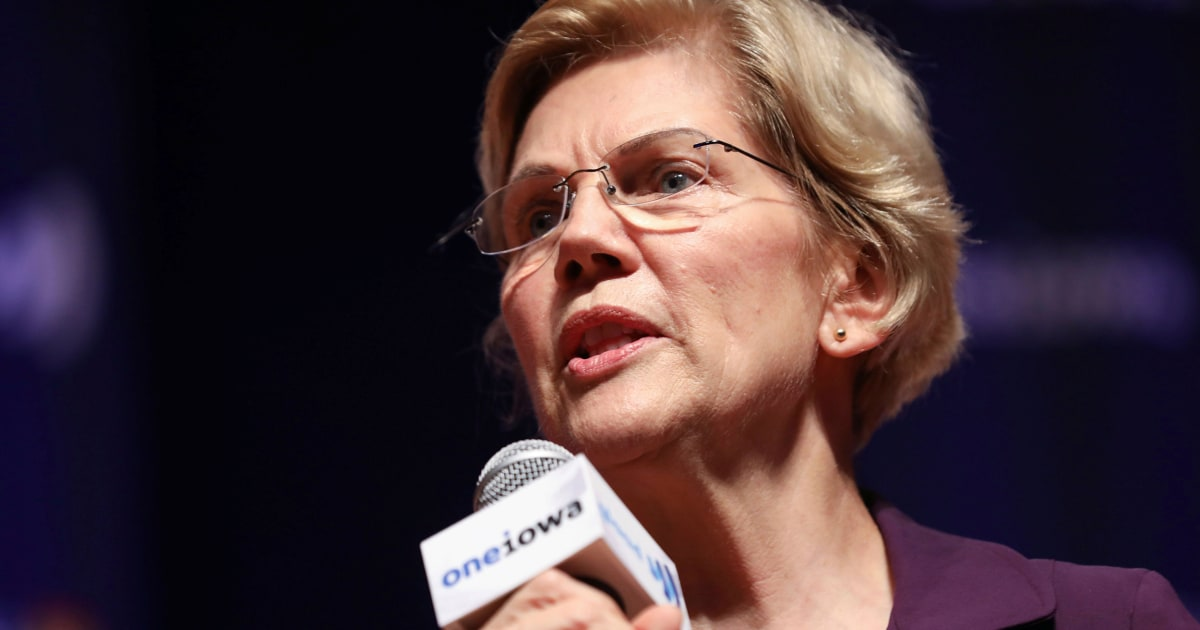 Elizabeth Warren edges out Joe Biden in gold-standard Iowa poll